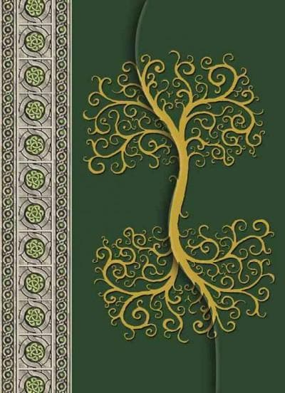 Celtic Tree / Albero Celtico (Notebook / blank book) - Thumbnail 0
