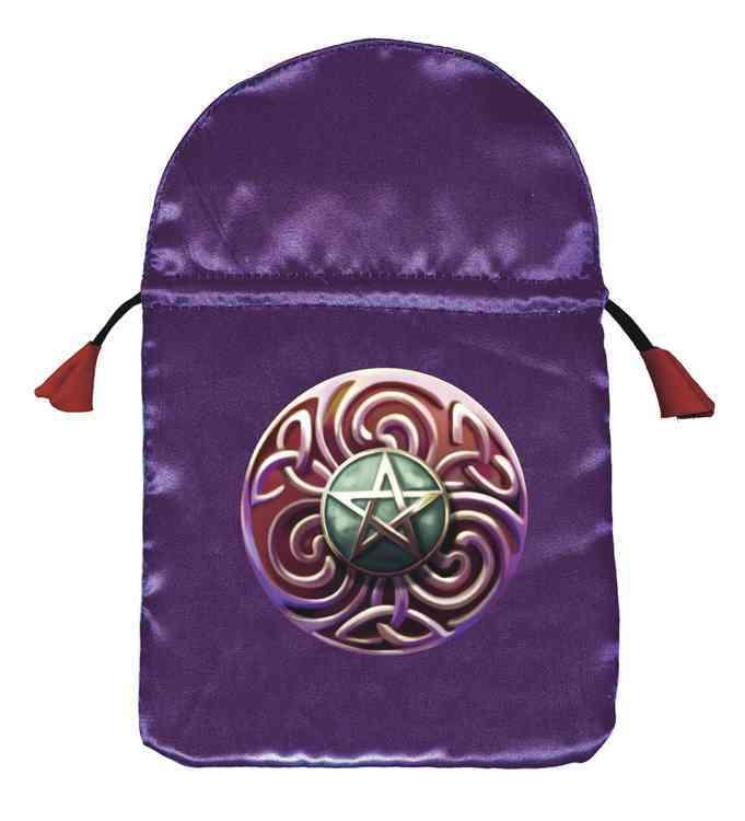 Magic Star Satin Tarot Bag (Hardcover)
