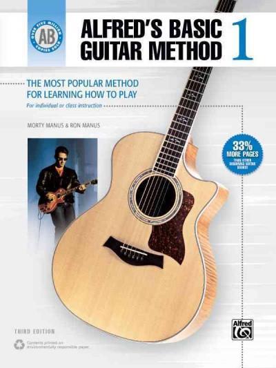 Alfred's Basic Guitar Method 1 (Paperback)