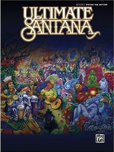 Ultimate Santana: Authentic Guitar Tab (Paperback)
