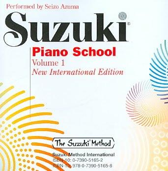 Suzuki Piano School: New International Edition (CD-Audio)