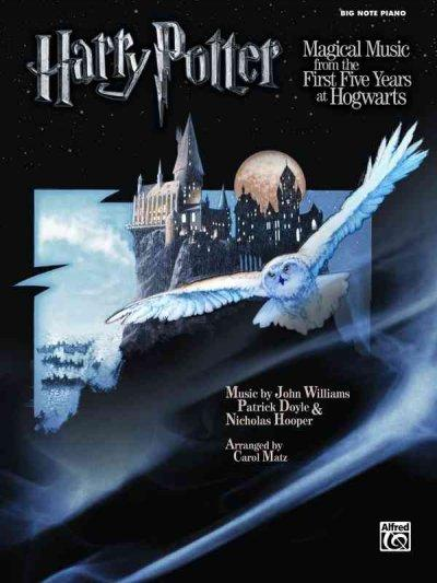 Harry Potter Magical Music: From the First Five Years at Hogwarts (Big Note Piano) (Paperback)