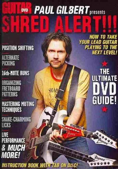 Paul Gilbert Presents Shred Alert!: How to Take Your Lead Guitar Playing to the Next Level! (DVD video)