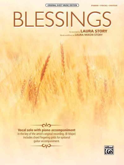 Blessings: Piano / Vocal / Guitar (Paperback)