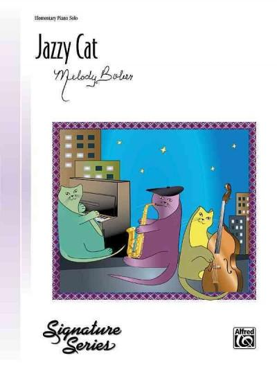 Jazzy Cat: Elementary Piano Solo (Paperback)