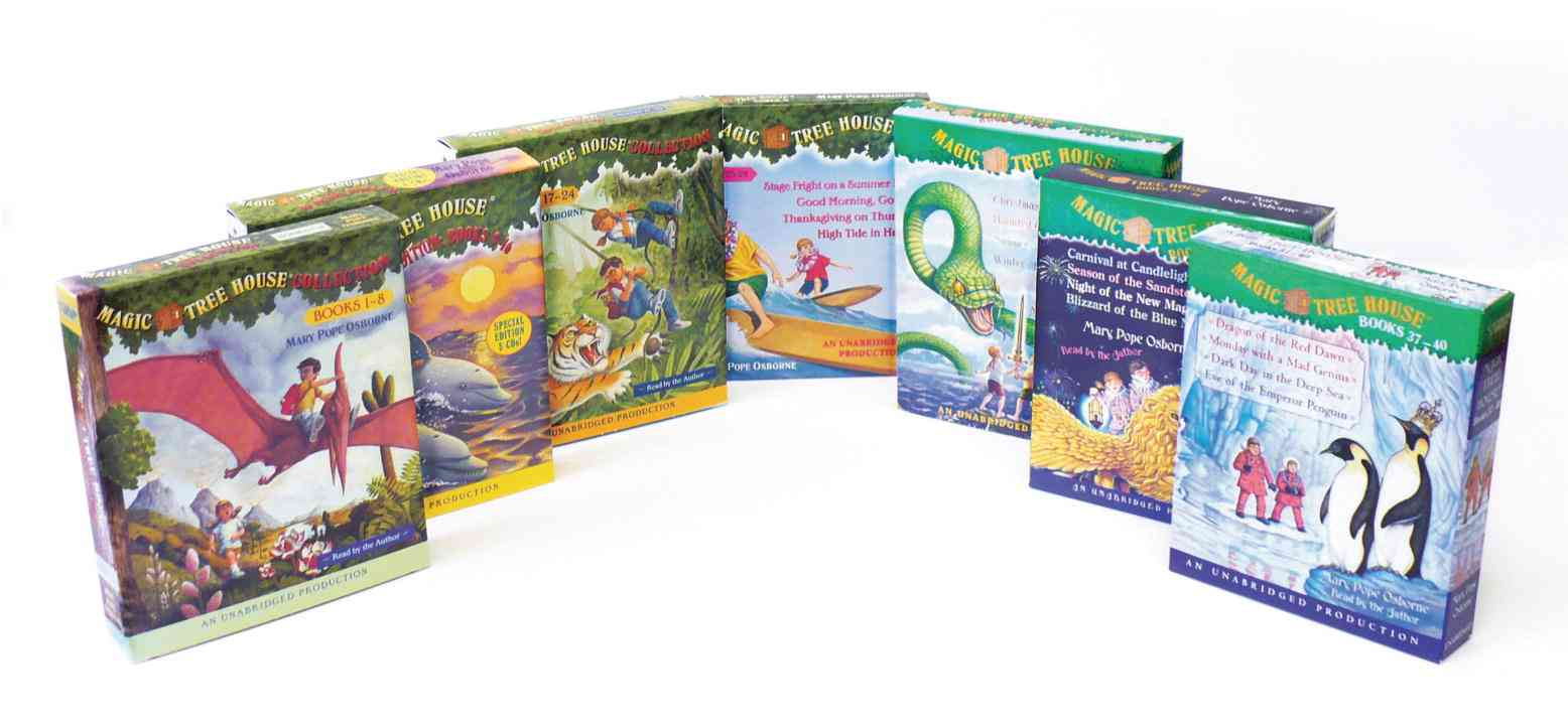 Magic Tree House Collection Books 1-40 (CD-Audio)