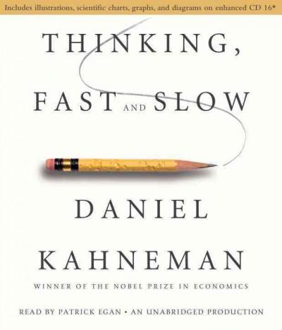 Thinking, Fast and Slow (CD-Audio)