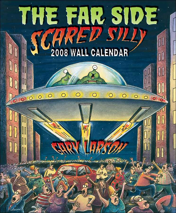 Far Side 2008 Calendar
