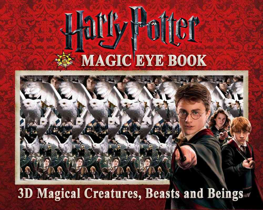 Harry Potter Magic Eye Book: 3D Magical Creatures, Beasts and Beings (Hardcover)