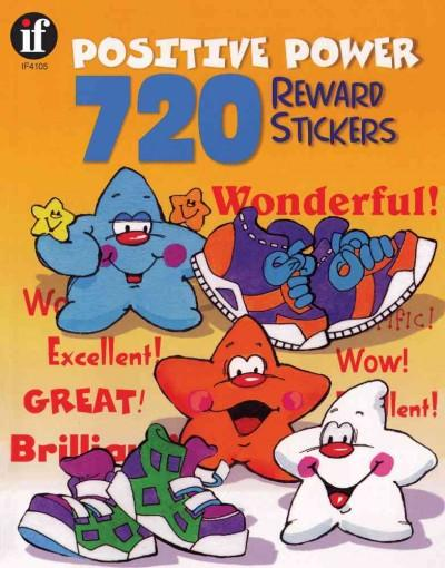 Positive Power 720 Reward Stickers (Paperback)