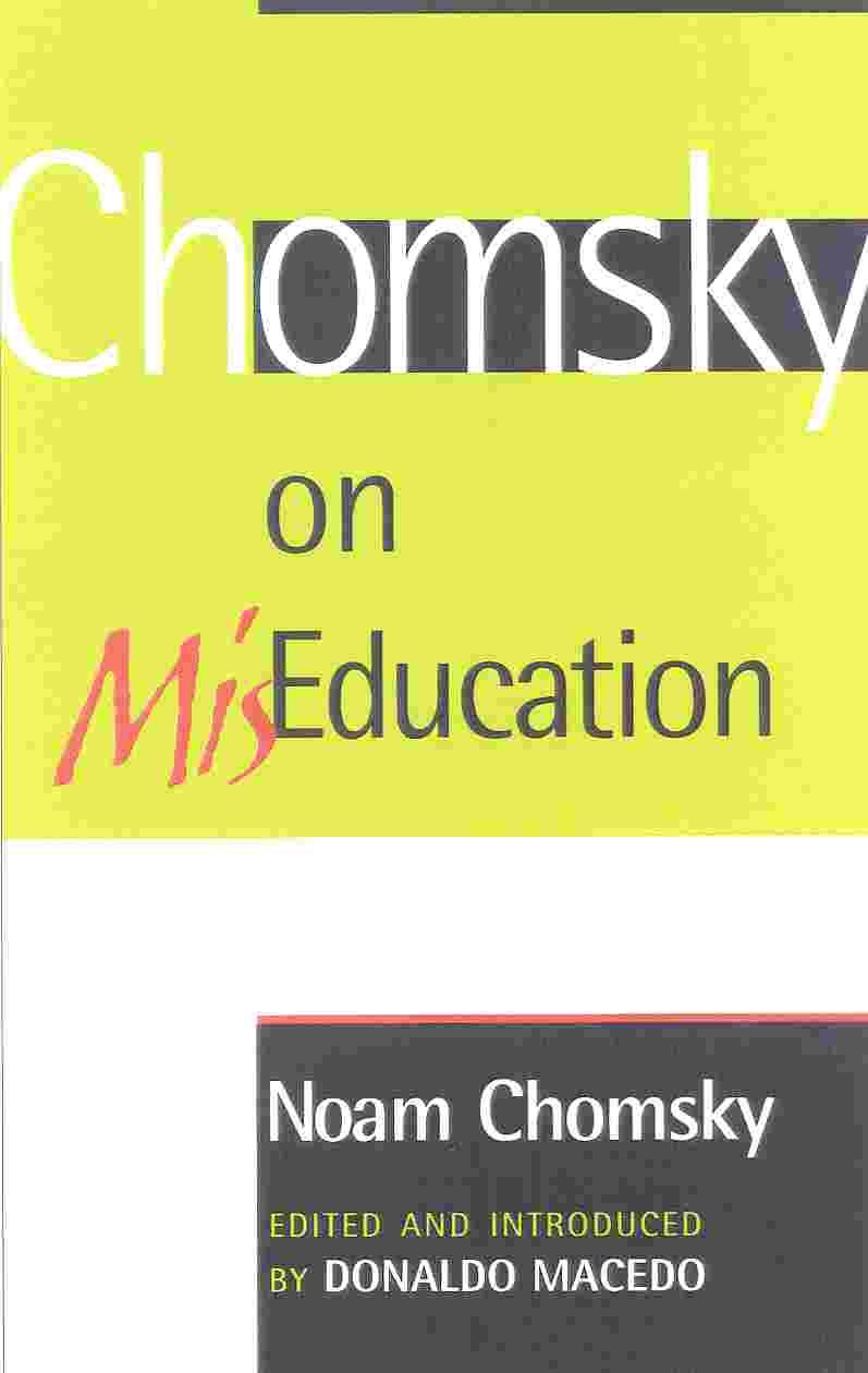 Chomsky on Miseducation (Hardcover)