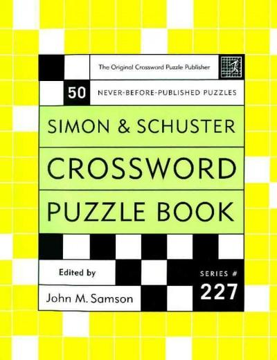 Simon & Schuster Crossword Puzzle Book (Spiral bound)