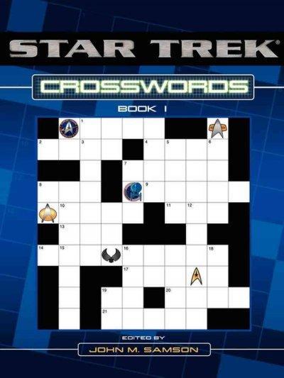 Star Trek Crosswords Book 1 (Paperback)