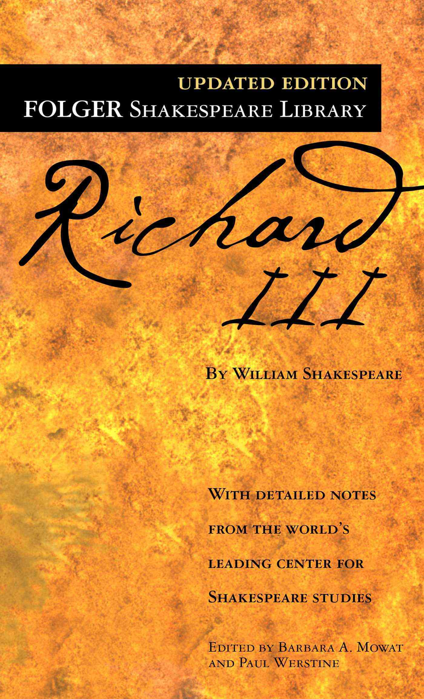 Richard III: The Tragedy of (Paperback)