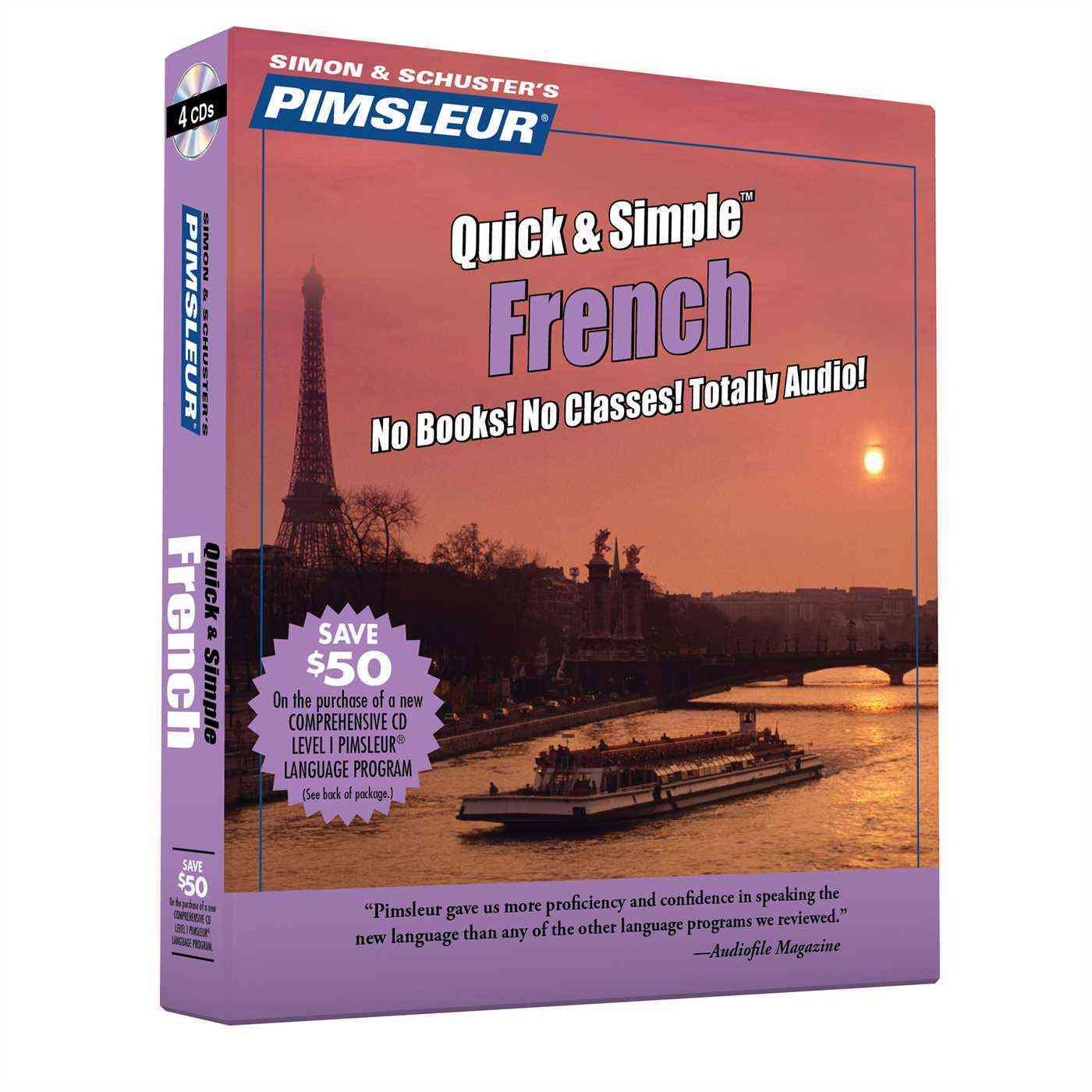 Pimsleur Quick & Simple French: Euro Edition (CD-Audio)