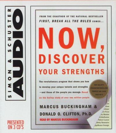 Now, Discover Your Strengths (CD-Audio)