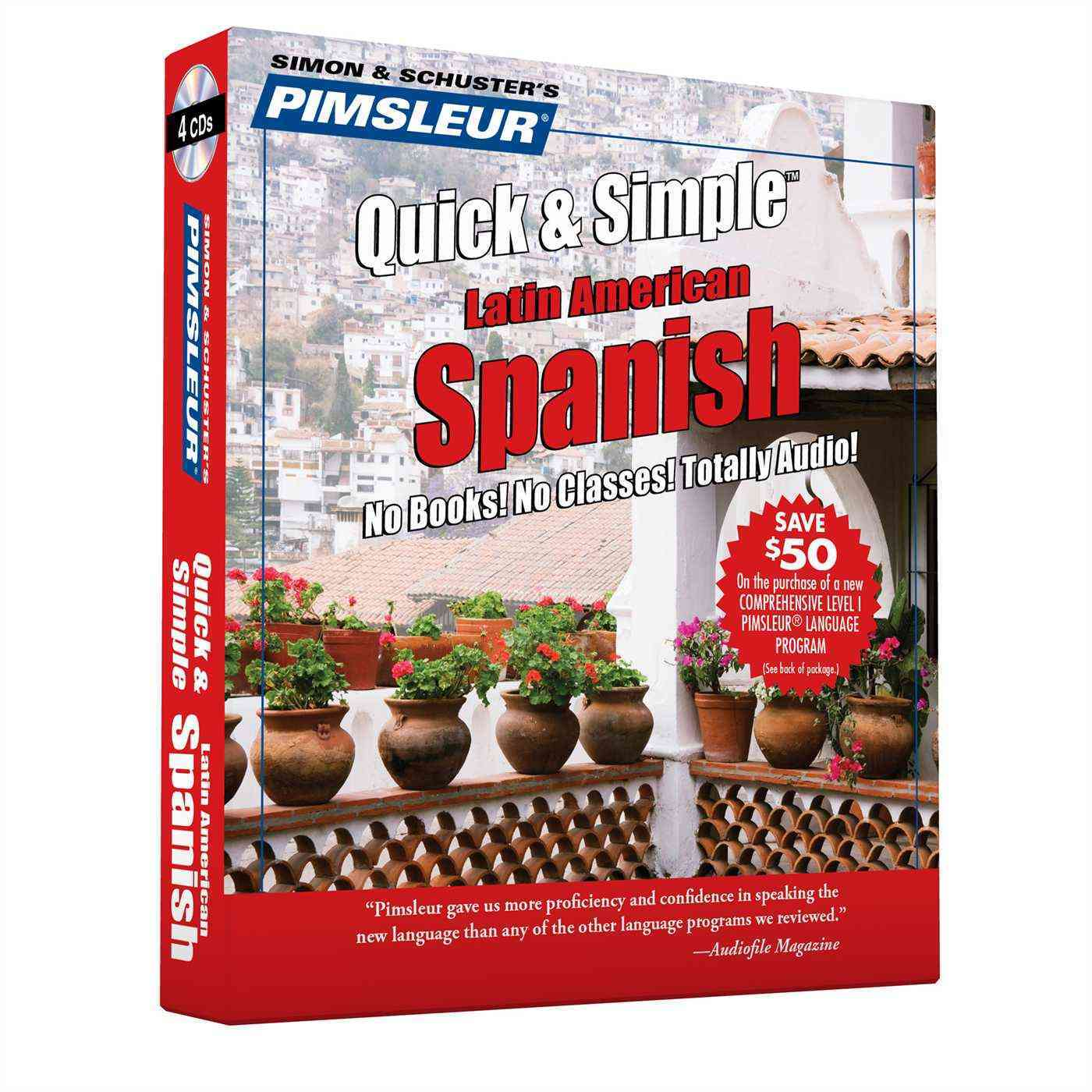 Pimsleur Quick & Simple Spanish 1: Latin American Spanish (CD-Audio) - Thumbnail 0