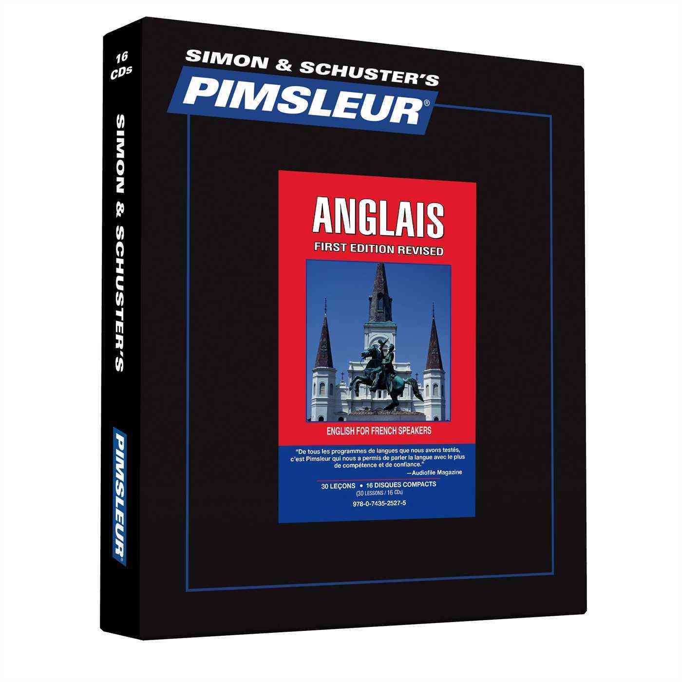 Pimsleur Anglais: English for French Speakers (CD-Audio)