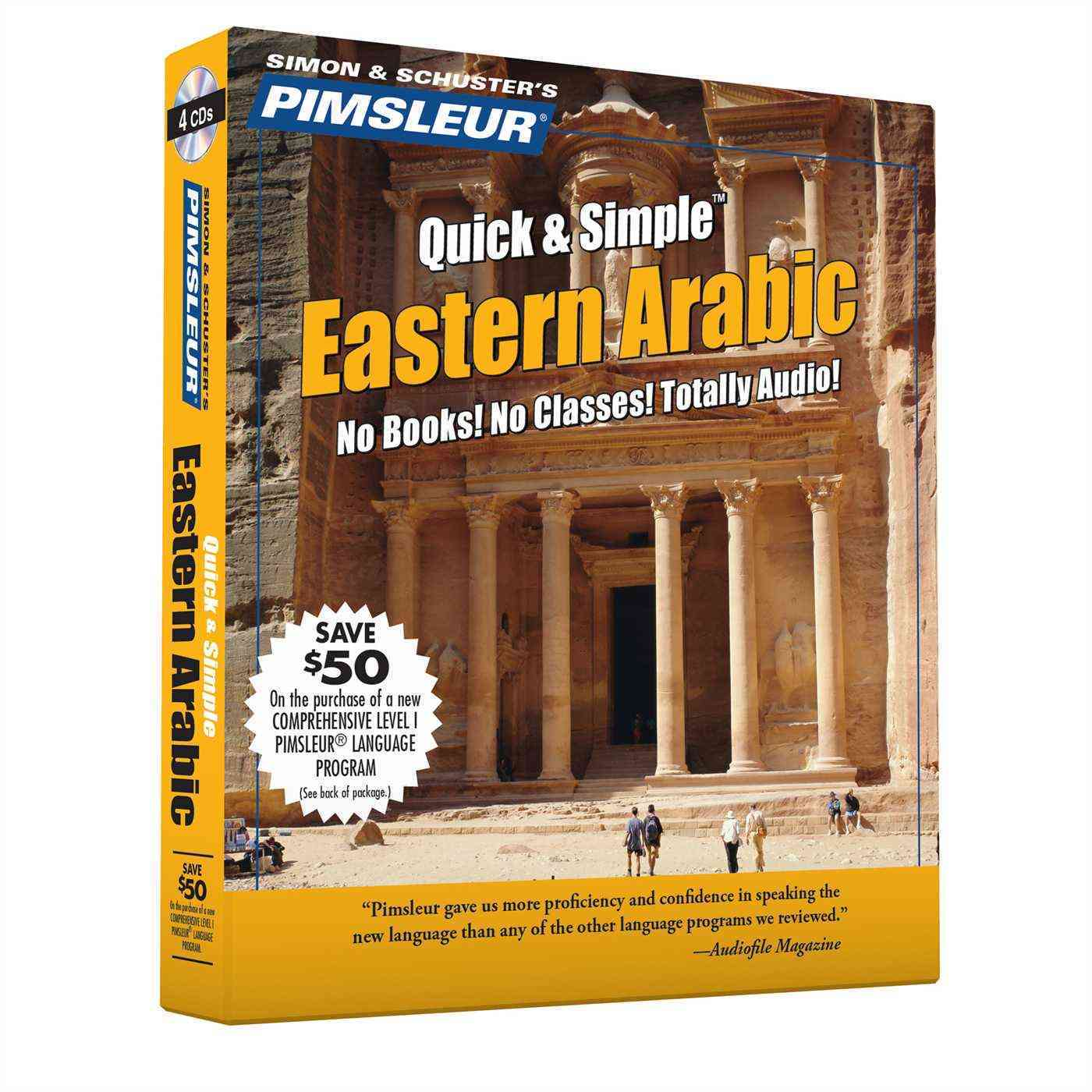 Arabic (Eastern): Learn to Speak and Understand Eastern Arabic With Pimsleur Language Programs (CD-Audio)
