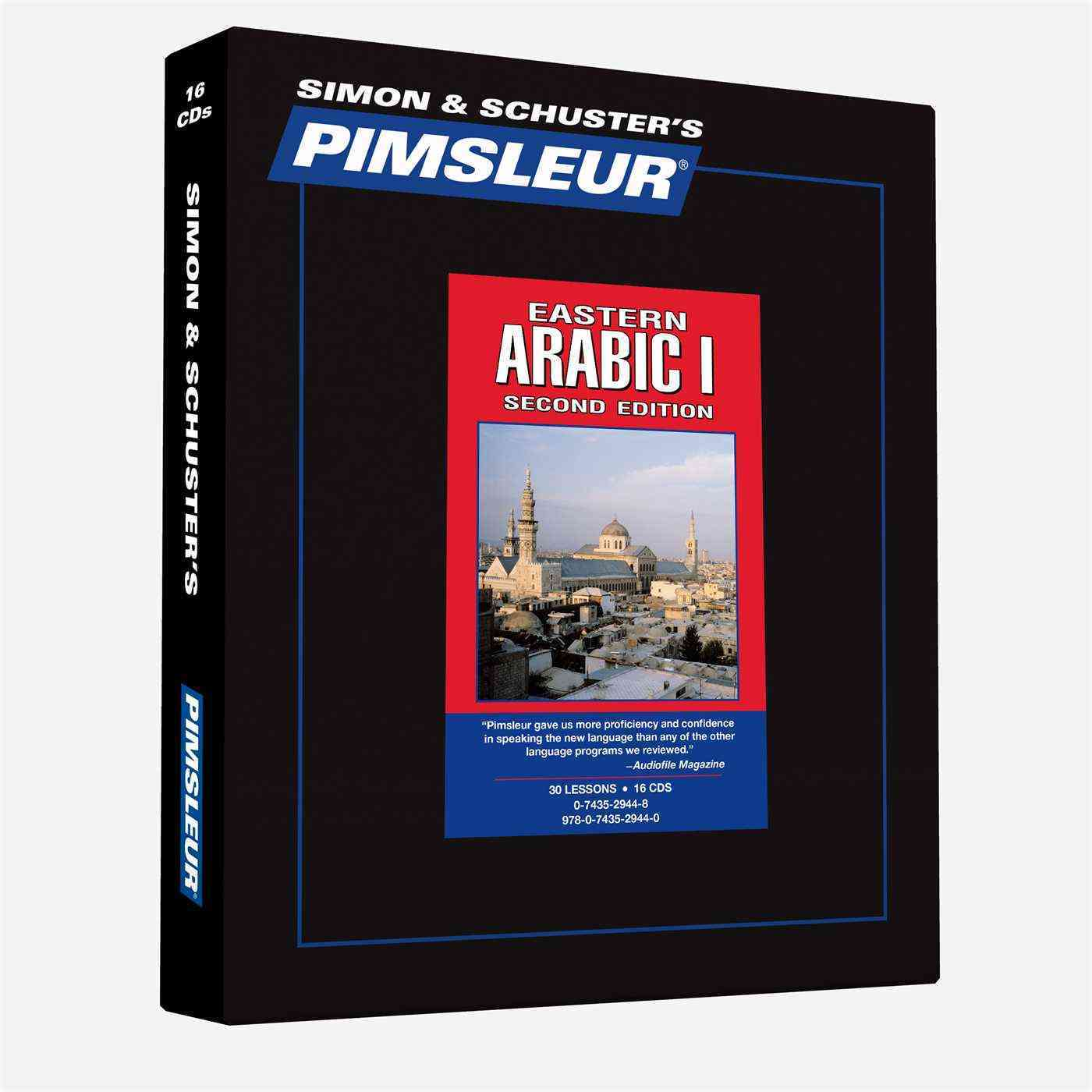 Pimsleur Language Program Eastern Arabic: 30 Arabic Language Lessons (CD-Audio)