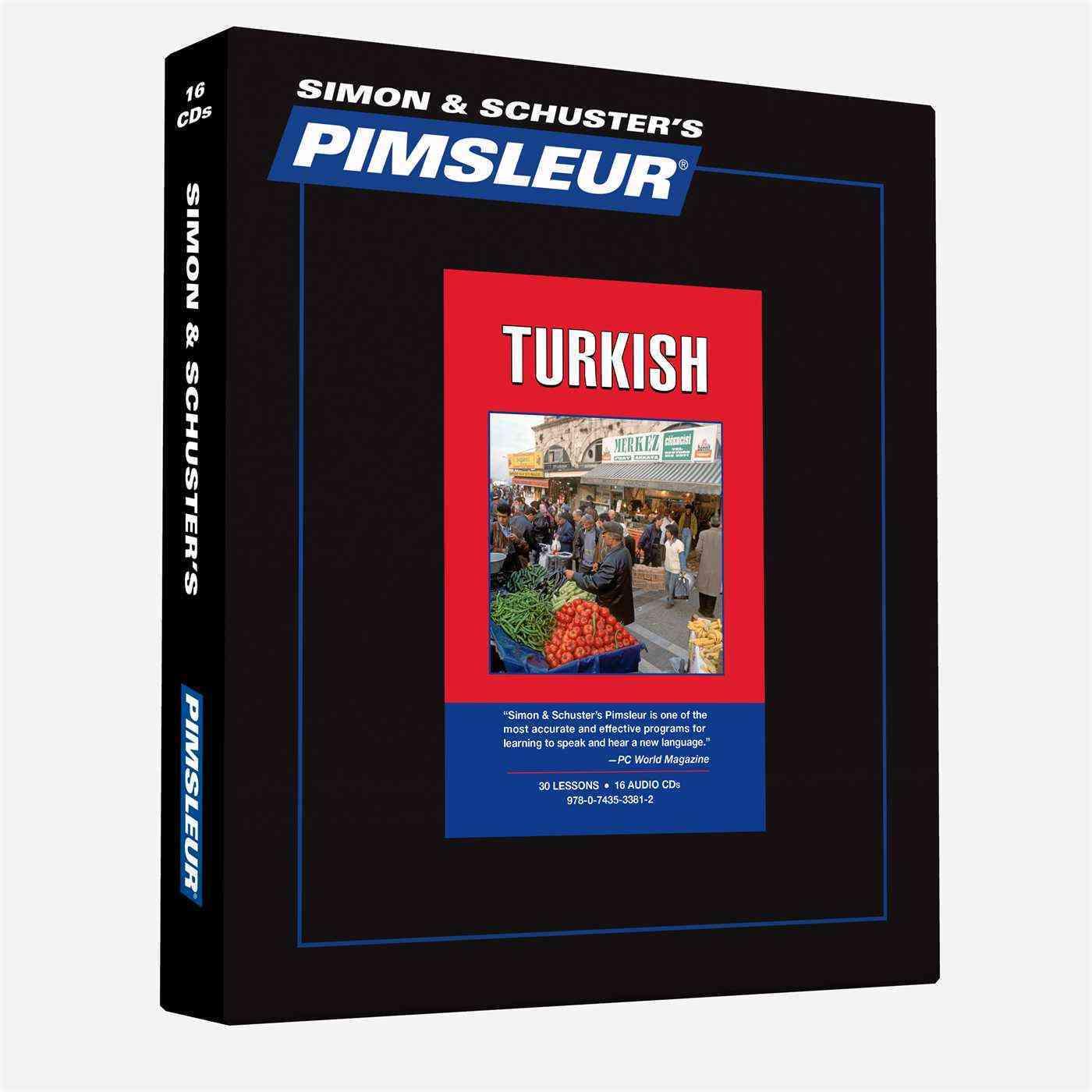Pimsleur Turkish (CD-Audio)