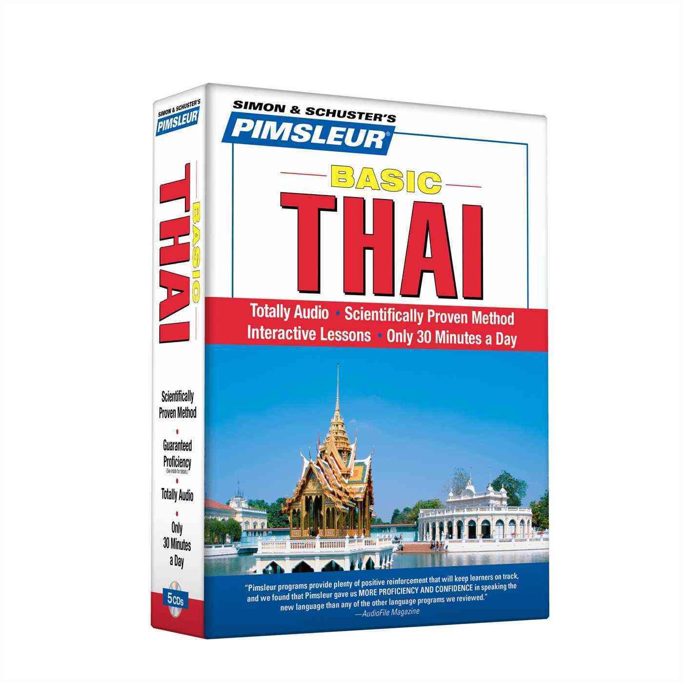 Pimsleur Basic Thai (CD-Audio)