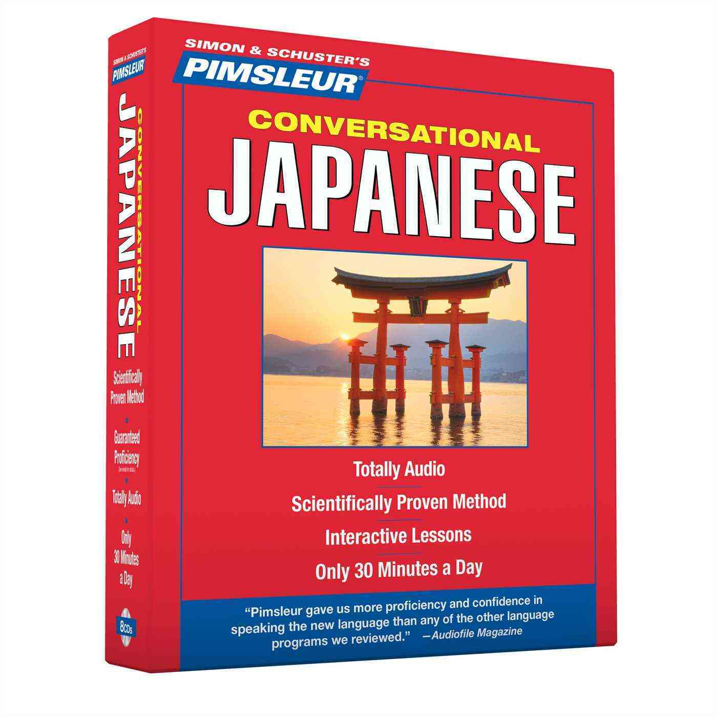 Pimsleur Conversational Japanese (CD-Audio)