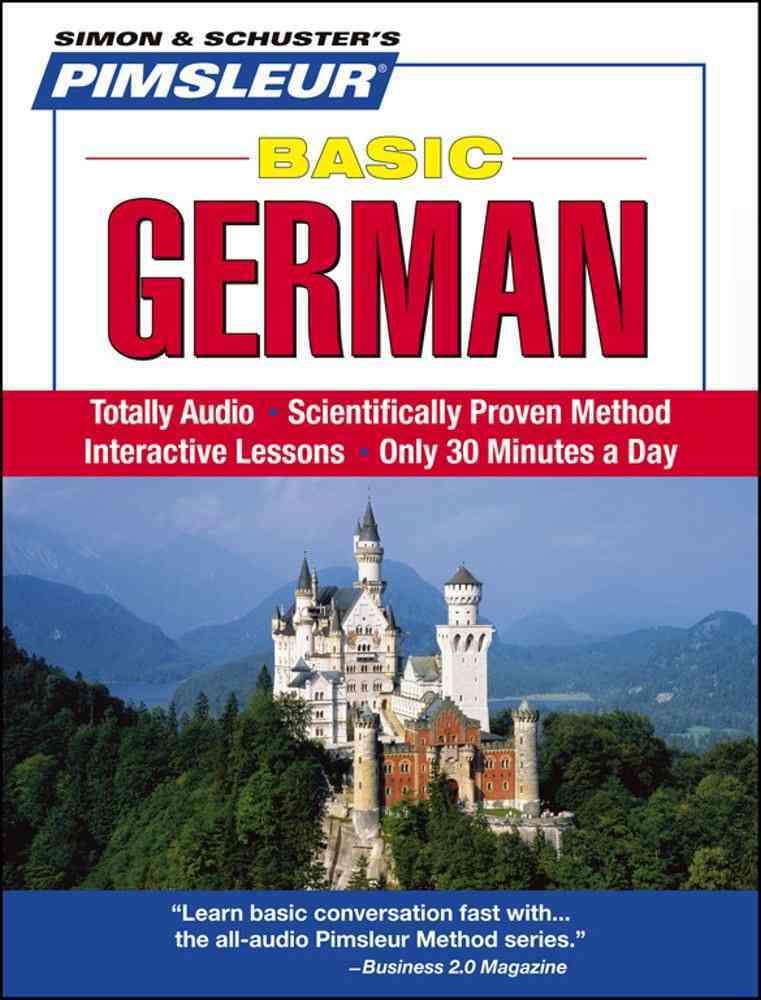 Pimsleur Basic German (CD-Audio)