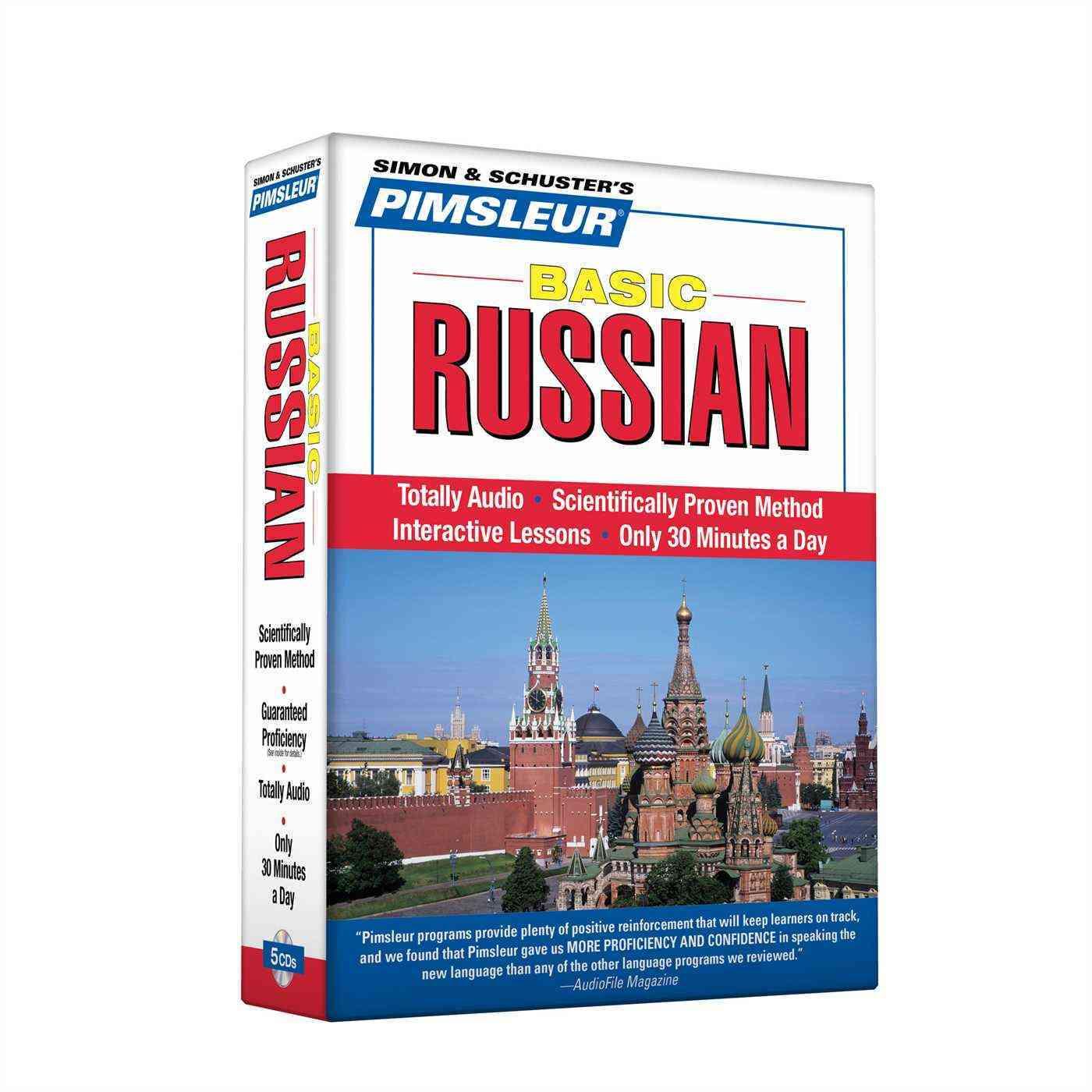 Pimsleur Basic Russian (CD-Audio)
