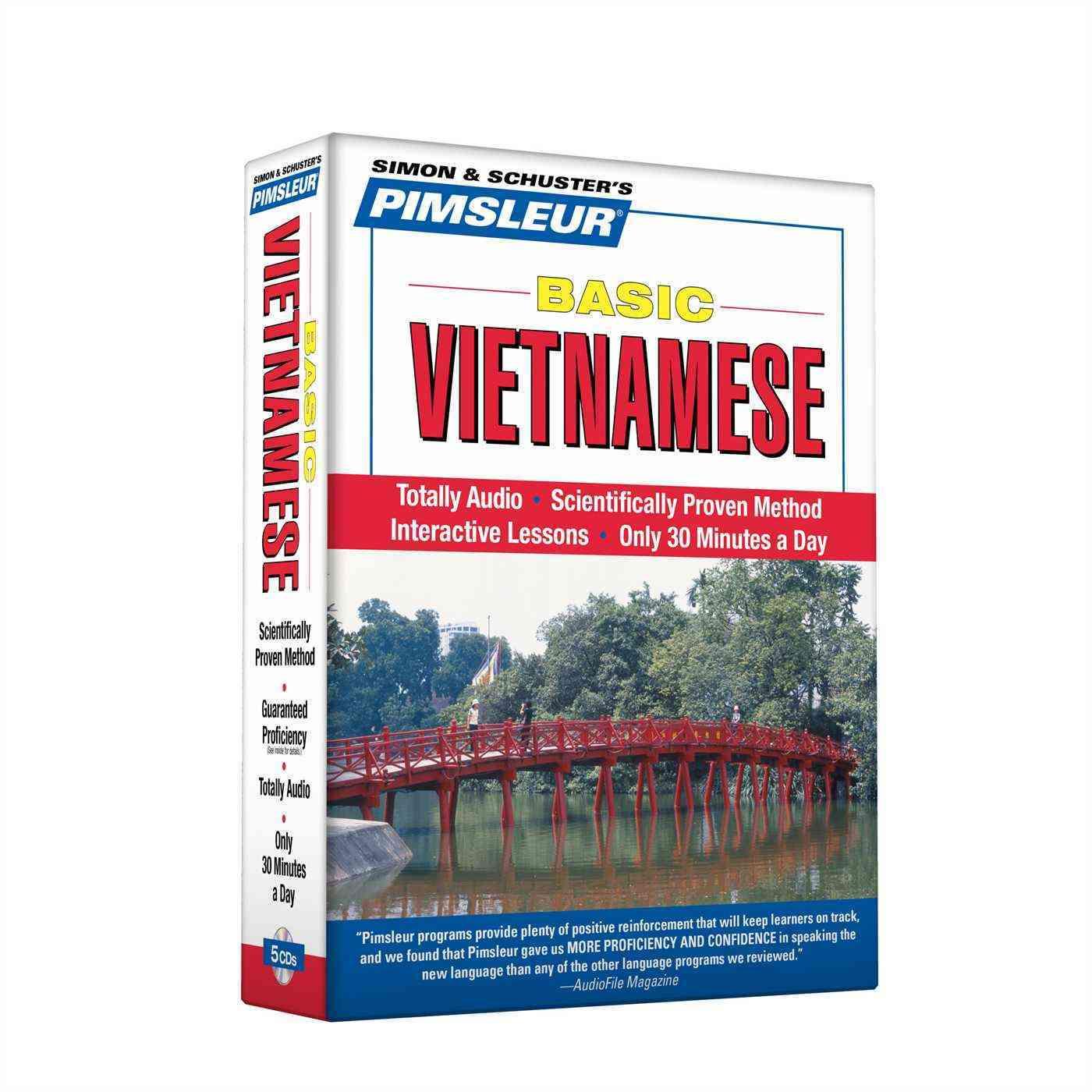 Pimsleur Basic Vietnamese (CD-Audio)
