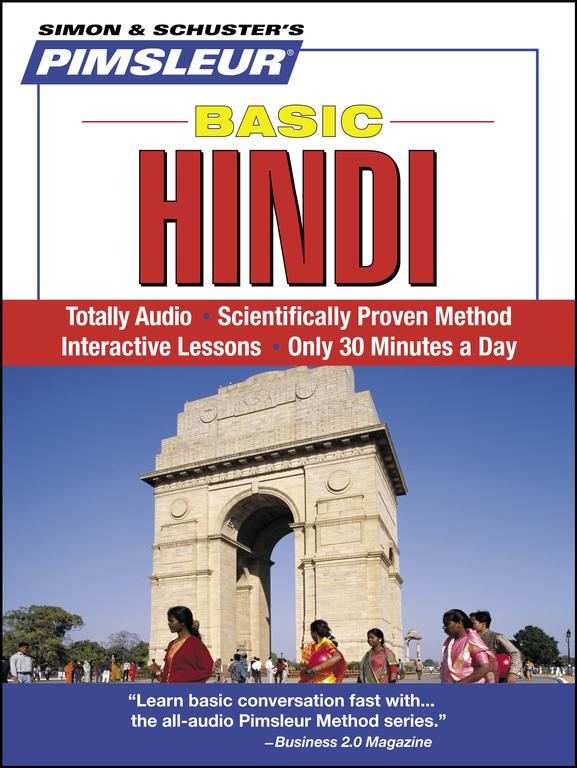 Pimsleur Basic Hindi (CD-Audio)
