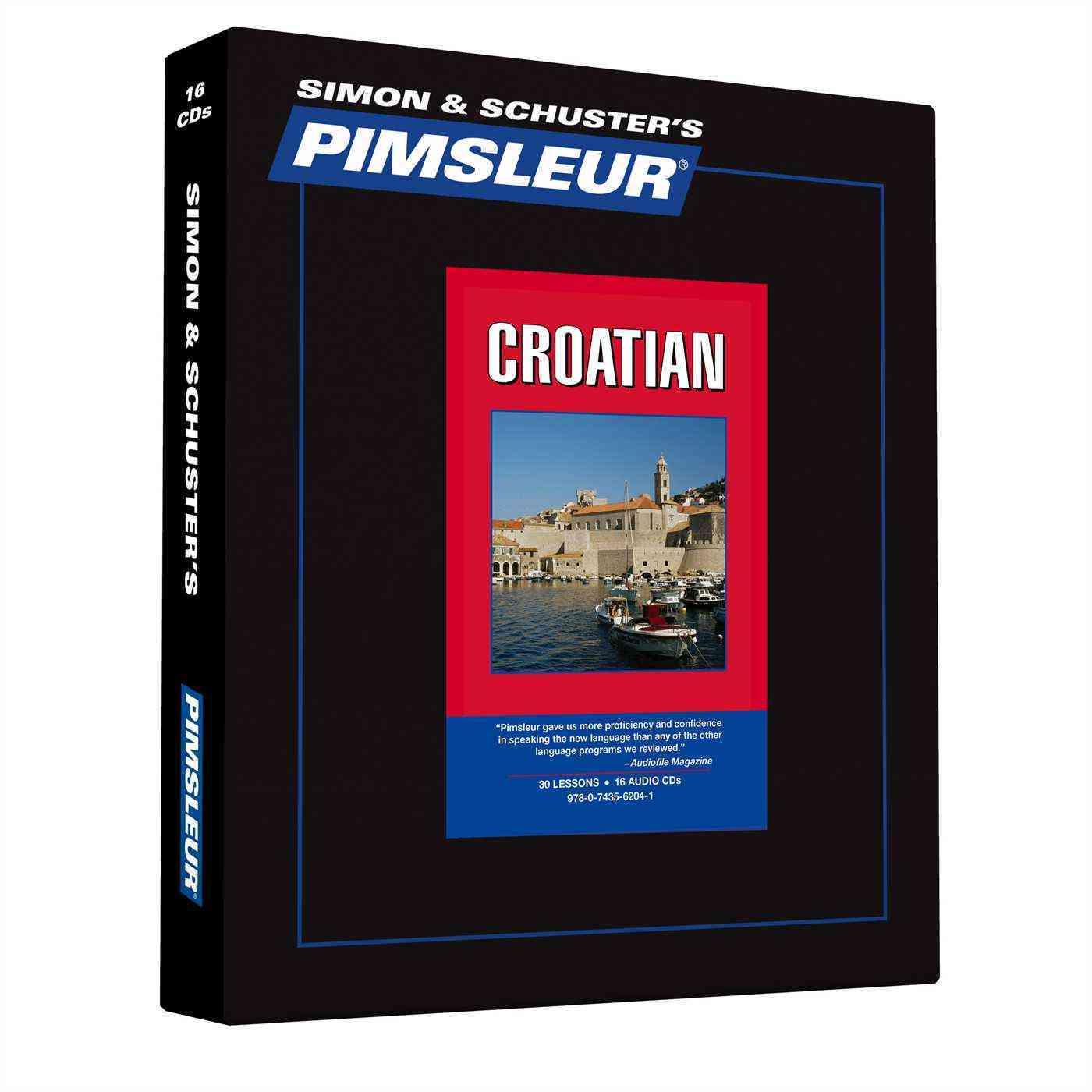 Simon & Schuster's Pimsleur: Croatian (CD-Audio)