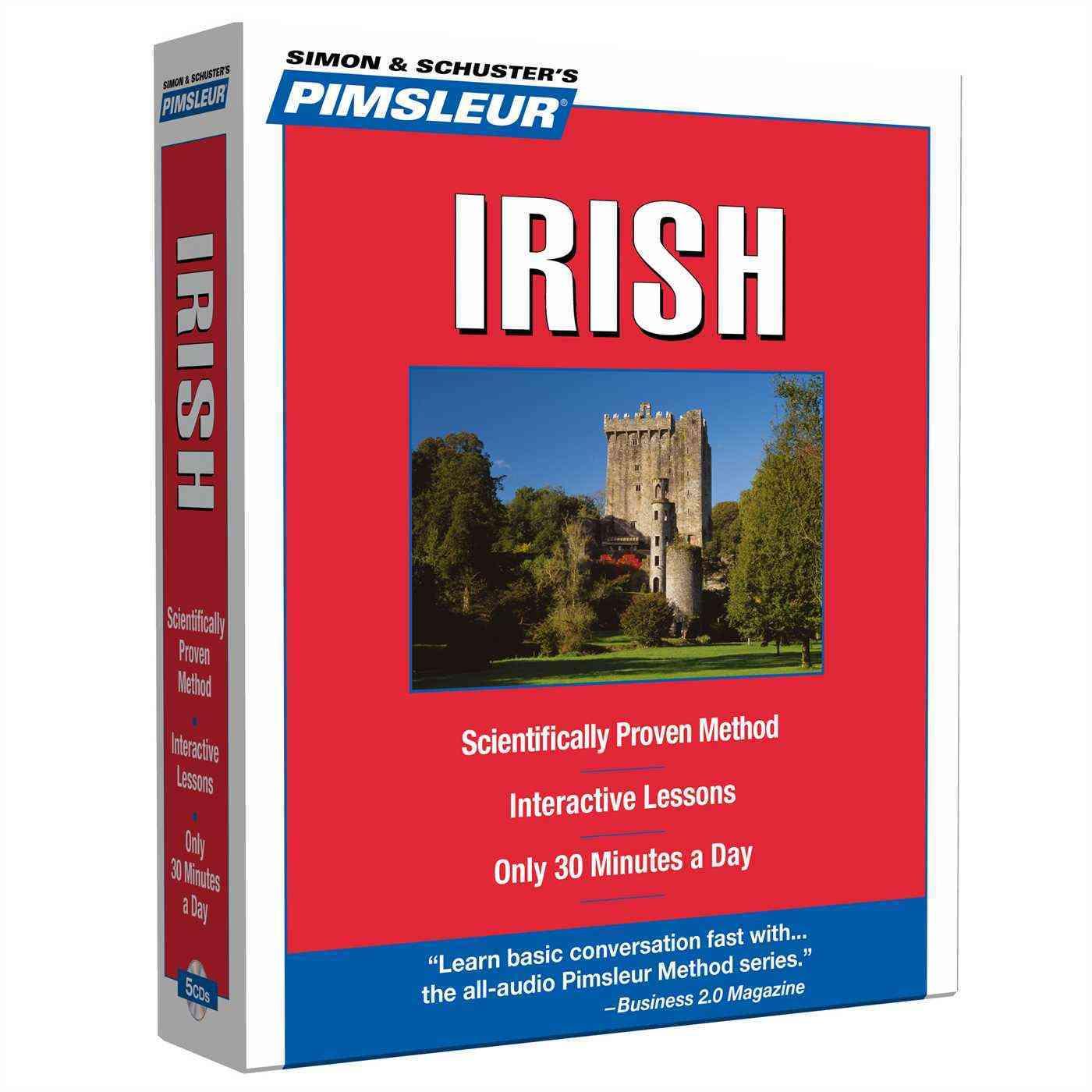 Irish, Compact: Learn to Speak and Understand Irish (Gaelic) With Pimsleur Language Programs (CD-Audio)
