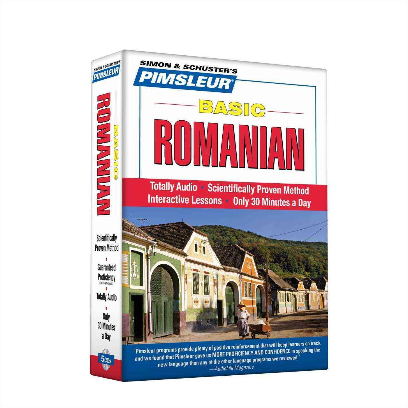 Pimsleur Basic Romanian (CD-Audio)