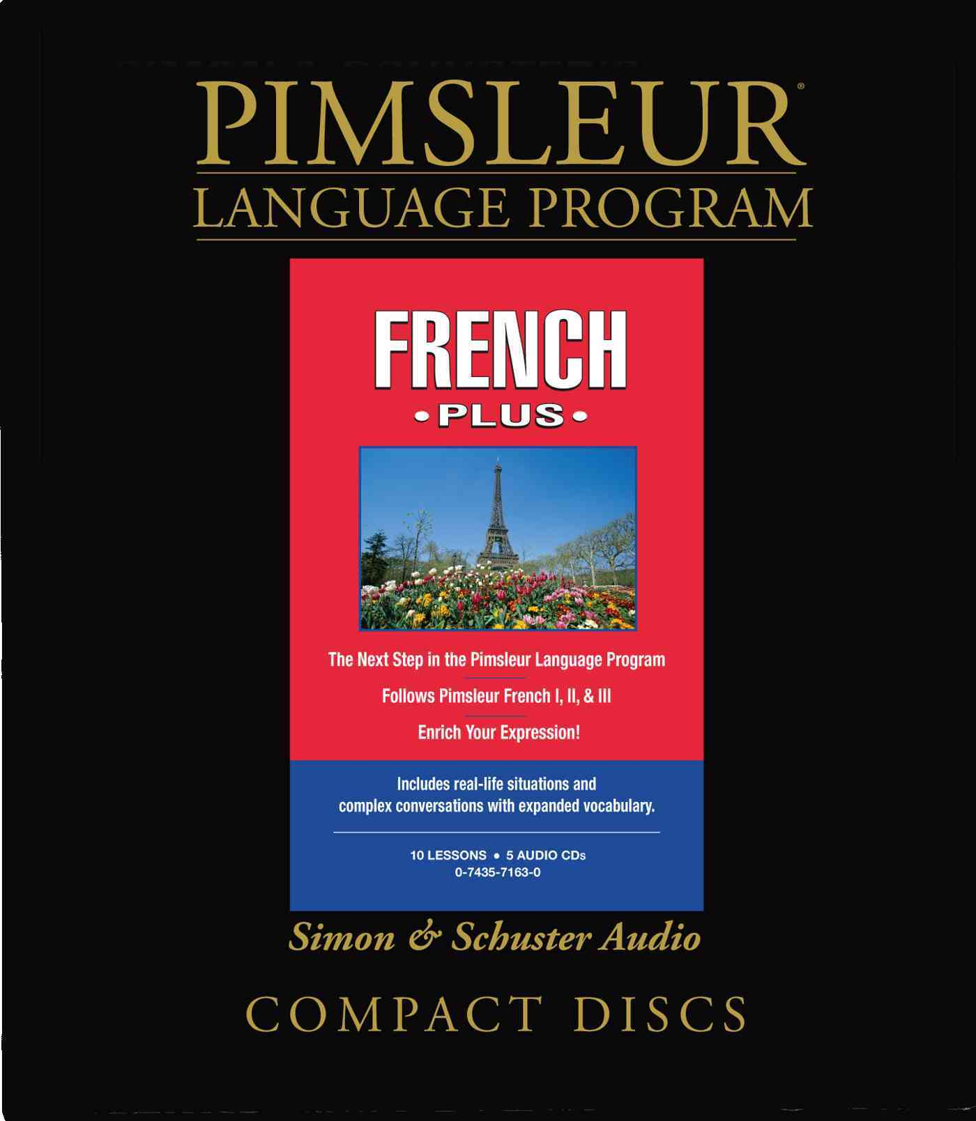 Pimsleur Language Program French Plus (CD-Audio)