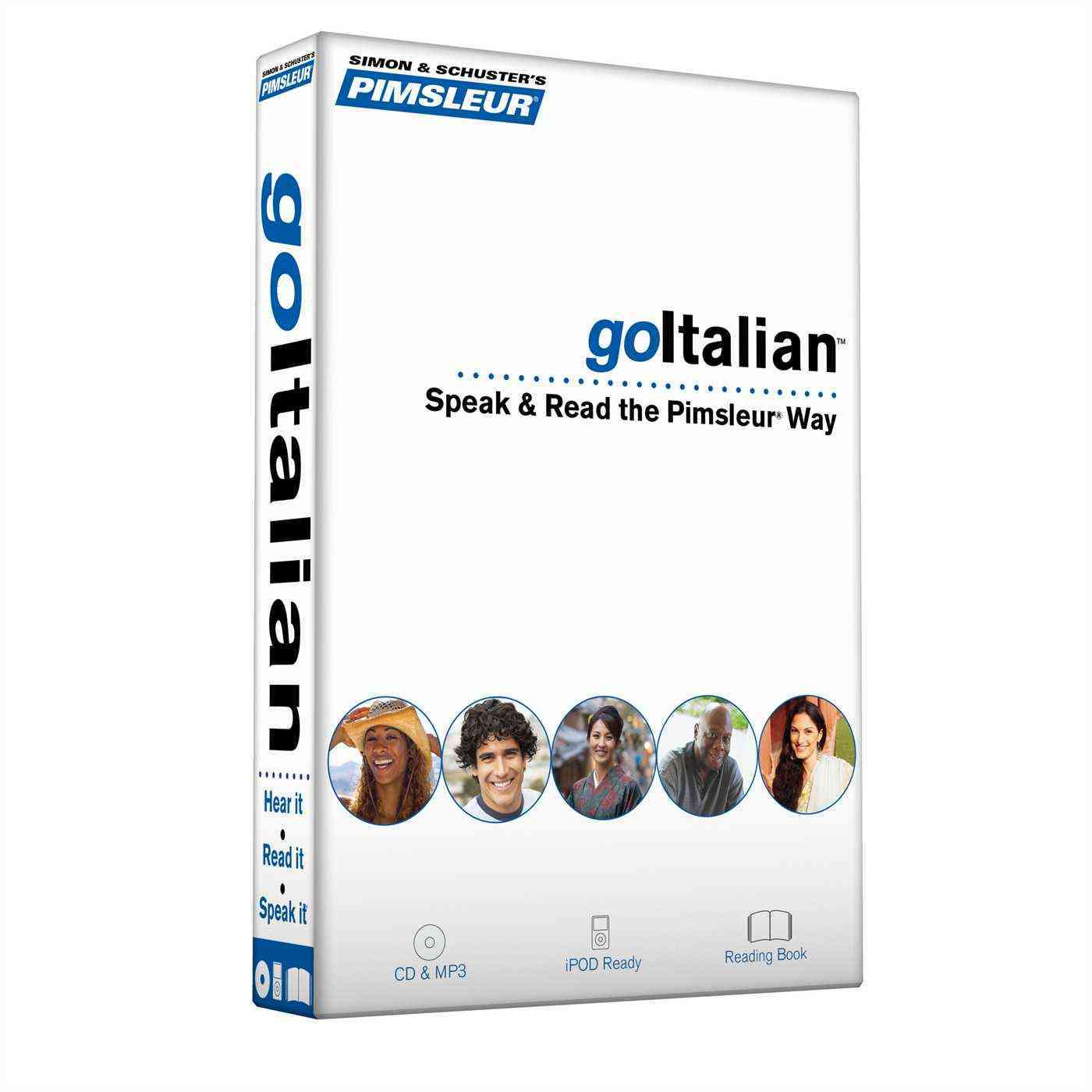 Goitalian: Speak & Read the Pimsleur Way, 8 Lessons + Reading