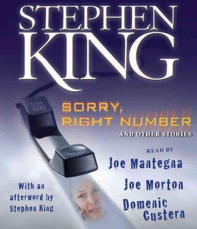 Sorry, Right Number And Other Stories (CD-Audio)