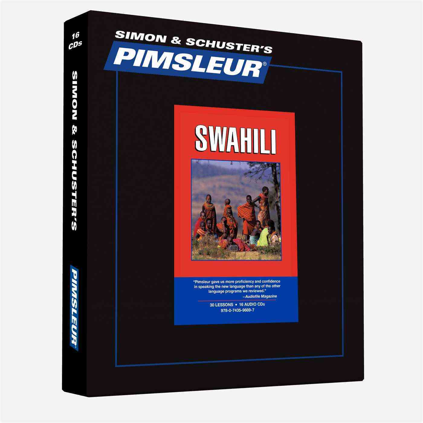 Pimsleur Swahili: 30 Lessons