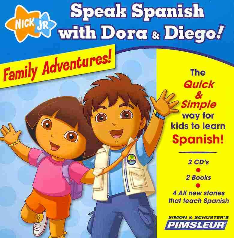 Family Adventures!: The Quick & Simple Way for Kids to Learn Spanish!
