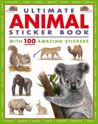 Ultimate Animal Sticker Book (Paperback)