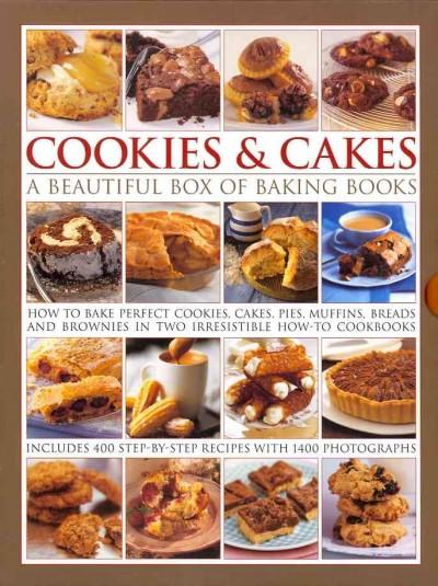 Cookies & Cakes: A Beautiful Box of Baking Books (Hardcover)