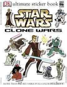 Star Wars: Clone Wars Ultimate Sticker Book (Paperback)