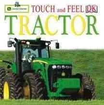 Touch And Feel Tractor (Board book)
