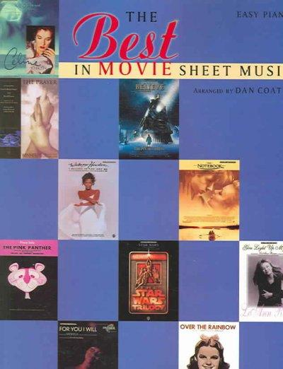 The Best in Movie Sheet Music: Easy Piano (Paperback)