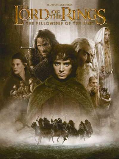 The Lord of the Rings: The Fellowship of the Ring : Piano/Vocal/Chords (Paperback)