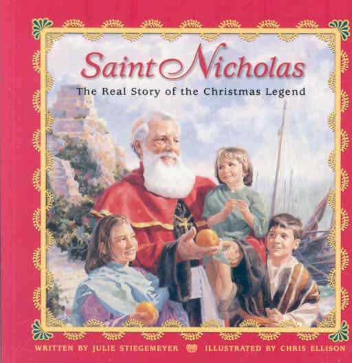 Saint Nicholas: The Real Story of the Christmas Legend (Board book)