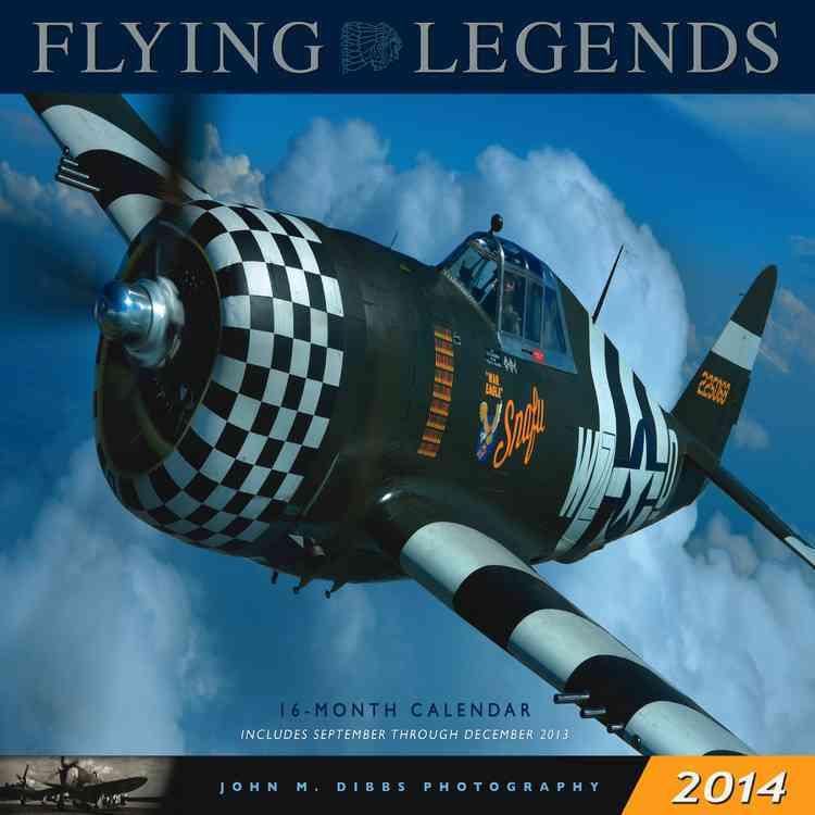 Flying Legends 2014 Calendar (Calendar)