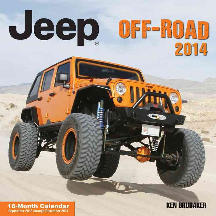 Jeep Off-Road 2014 Calendar (Calendar)