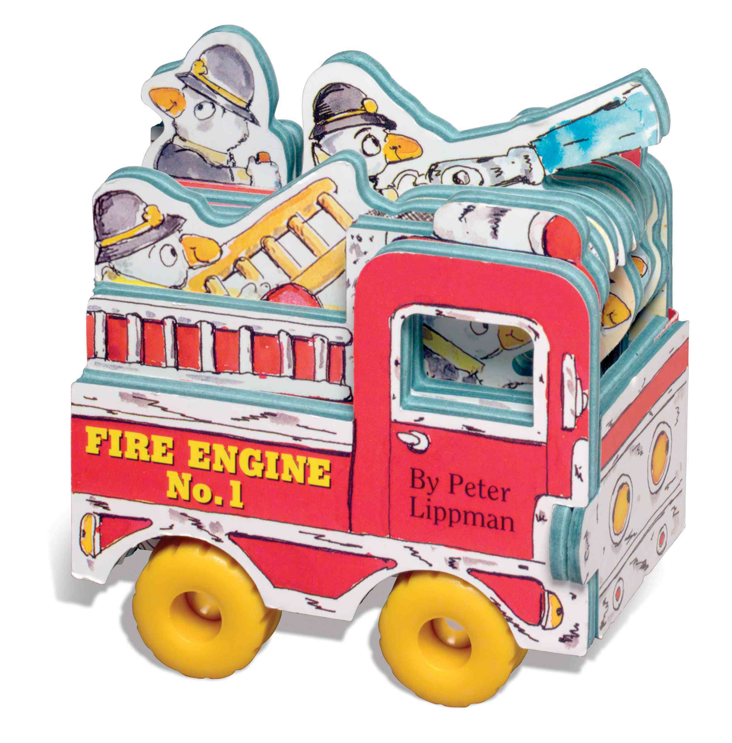 Fire Engine No. 1 (Board book) - Thumbnail 0