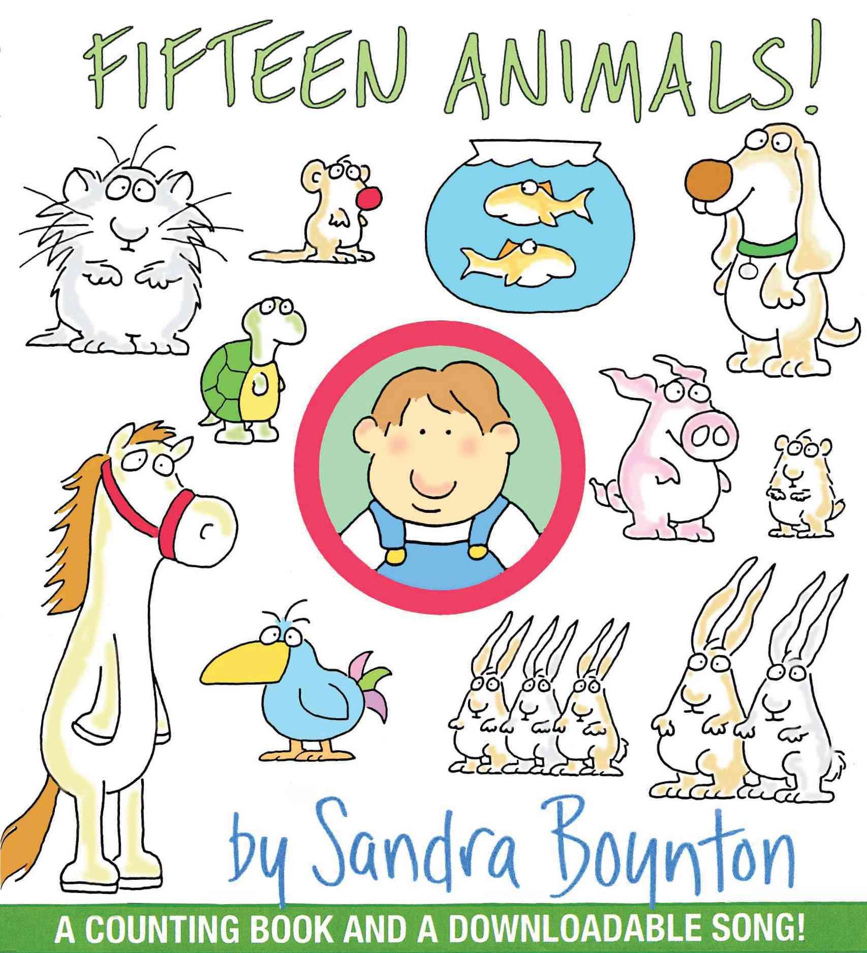 Fifteen Animals! (Board book)